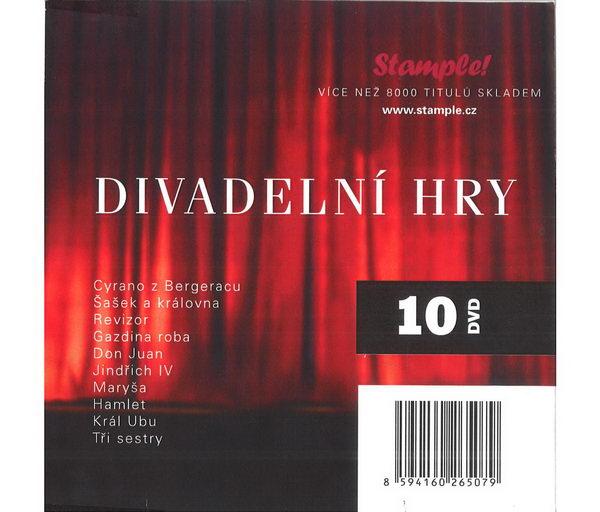 Divadelní hry Kolekce 10 DVD, 10 her