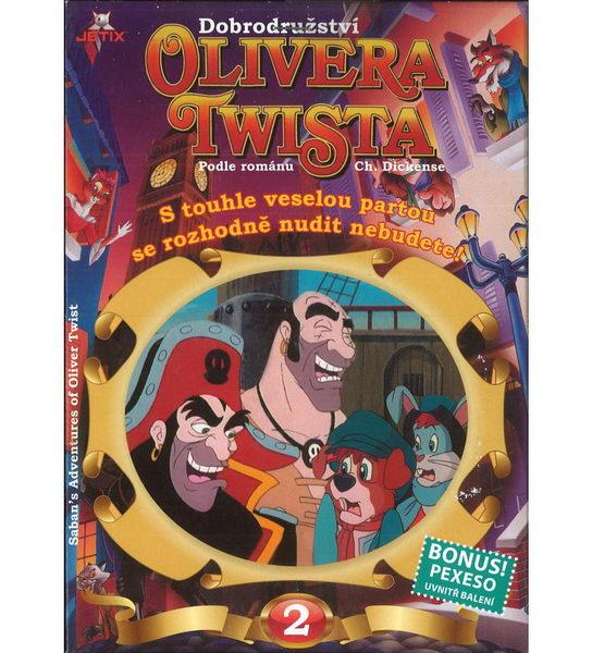 Dobrodružství Olivera Twista 2 - DVD