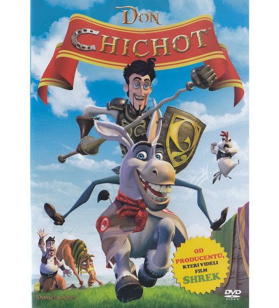 Don Chichot - anim. - DVD pošetka