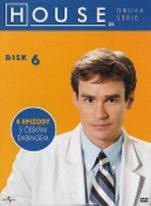 Dr. House - 2. série, disk 6 - DVD