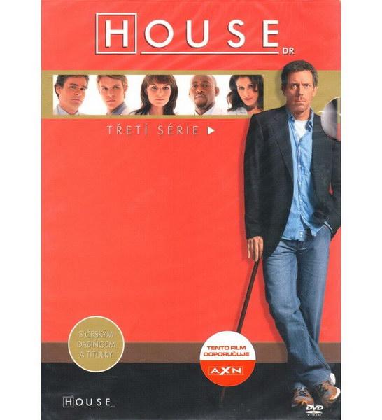 Dr. House - kompletní 03. série - DVD