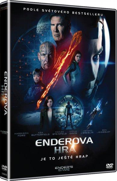 Enderova hra - DVD plast