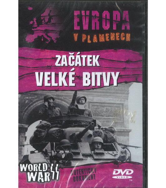 Evropa v plamenech: Začátek velké bitvy ( plast ) DVD