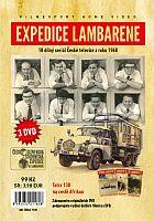 Expedice Lambarene - 3x DVD - papírové pošetky