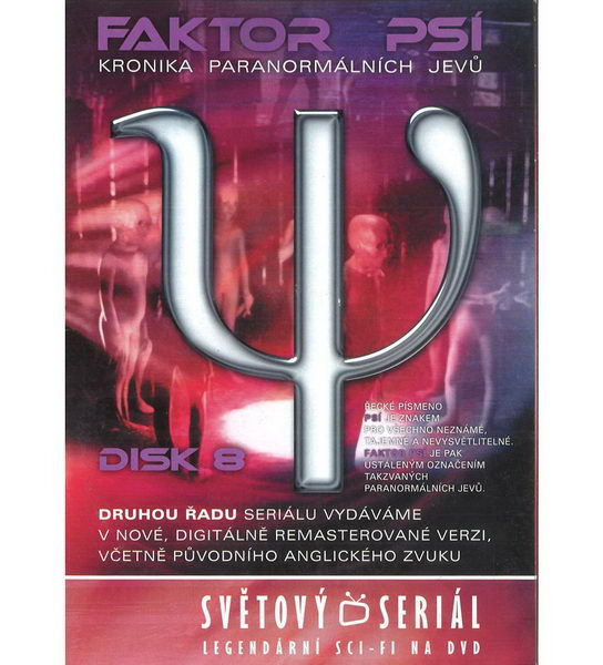Faktor psí: Kronika paranormálních jevů disk 8 - DVD