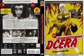 Frankensteinova dcera ( plast ) DVD