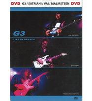 G3/Satriani/Vai/Petrucci - Live in Denver - DVD