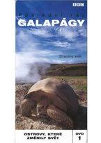 Galapágy - Poslední ráj 1 - Ztracený svět - DVD