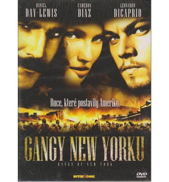 Gangy New Yorku - DVD digipack
