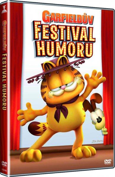 Garfieldův festival humoru - DVD pošetka - bazarové zboží