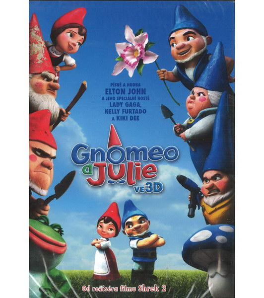 Gnomeo a Julie ve 3D - DVD