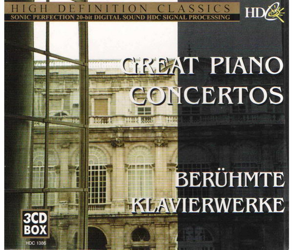 Great Piano Concertos (3CD)