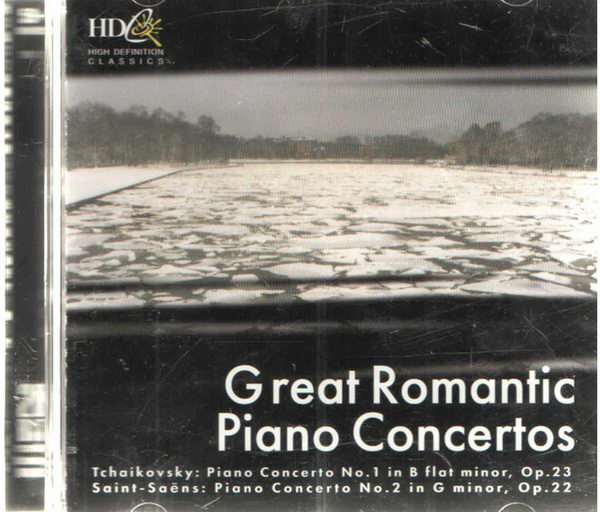 Great Romantic Piano Concertos - CD