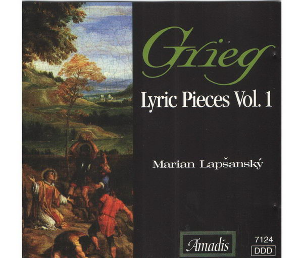 Grieg - Lyric Pieces Vol. 1 - CD