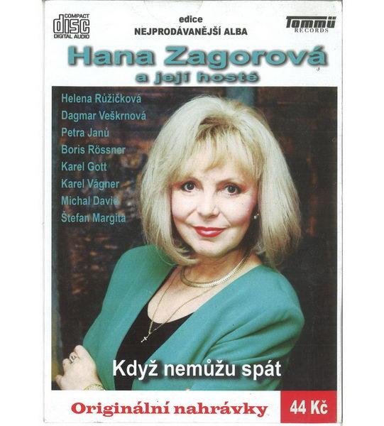 Hana Zagorová - Když nemůžu spát - CD