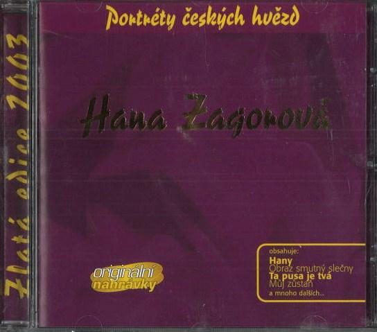 Hana Zagorová - Portréty českých hvězd - CD