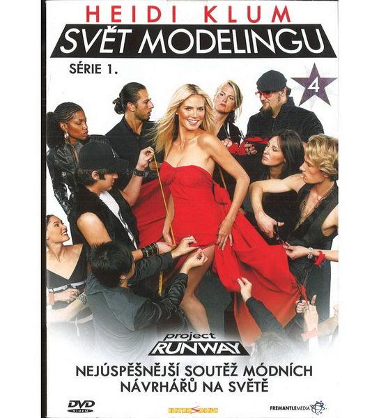 Heidi Klum - Svět modelingu - série 1. - disk 4 - DVD