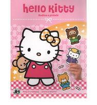 Hello Kitty - Rodina a přátelé - Hraj si a nalepuj...znovu a znovu!