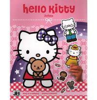 Hello Kitty - Zvířata - Hraj si a nalepuj...znovu a znovu!