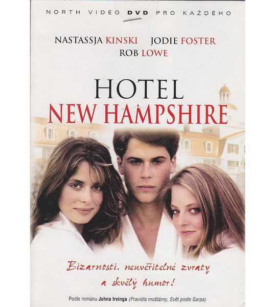 Hotel New Hampshire - DVD pošetka