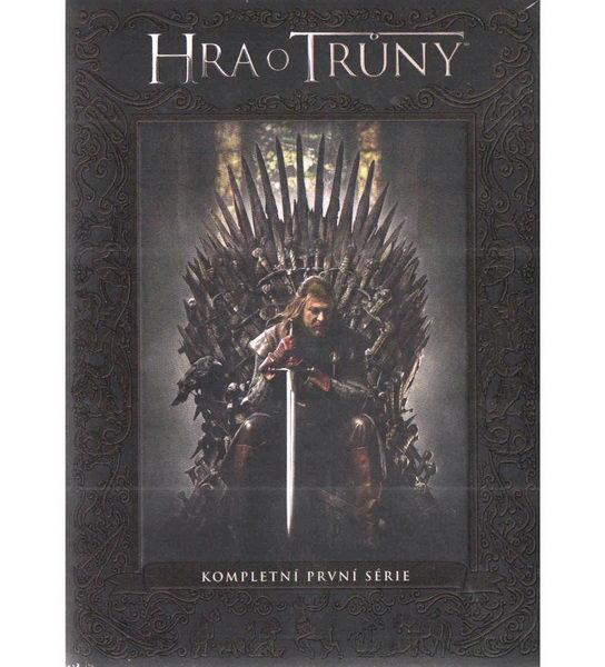 Hra o trůny - kompletní 1. série - DVD