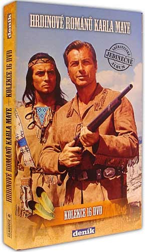 Hrdinové Karla Maye - nekompletní kolekce (chybí díl V říši stříbrného lva) - DVD