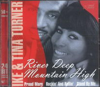 Ike and Tina Turner - River deep Mountain high - CD