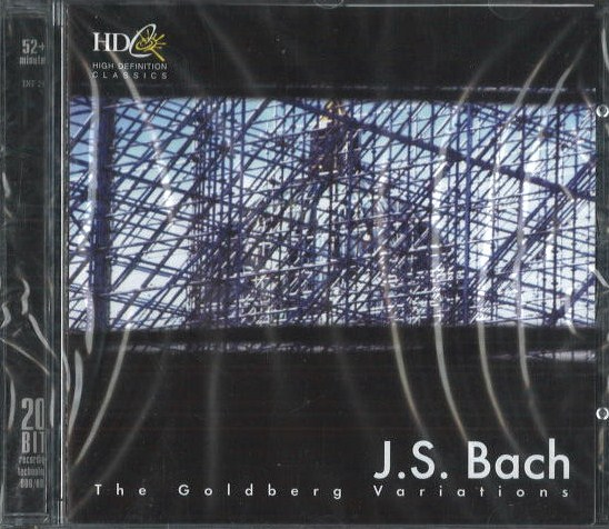 J. S. Bach - The Golberg variations - CD