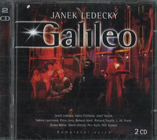 Janek Ledecký - Galileo - CD