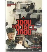 Jdou vojáci, jdou - DVD plast