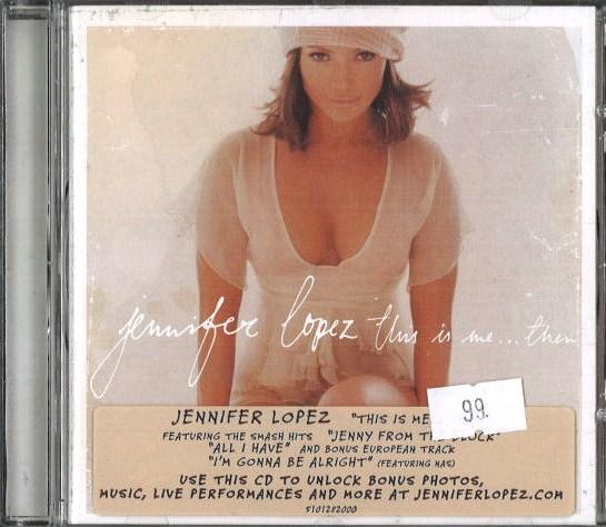 Jennifer Lopez - This is me ... Then - CD