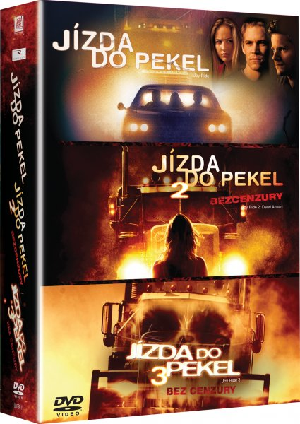 Jízda do pekel 1-3 - DVD