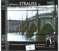 Johann Strauss Jr. - From Vienna to st. Petersburg - CD