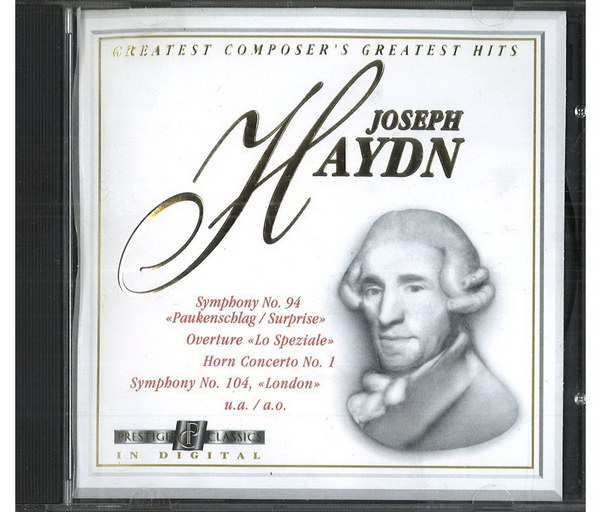 Joseph Haydn - Greatest composer's greates hits - CD
