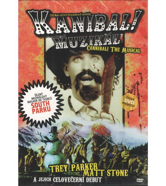 Kanibal! Muzikál - DVD