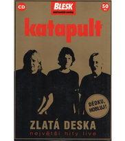 Katapult - zlatá deska - největší hity live - CD