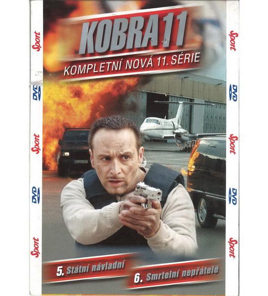 Kobra 11 - 11. série - 5. Státní návladní + 6. Smrtelní nepřátelé - DVD
