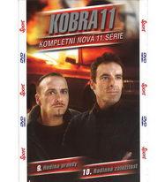 Kobra 11 - 11.série - 9. Hodina pravdy + 10. Rodinná záležitost - DVD