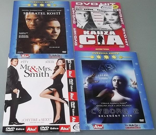 Kolekce Angelina Jolie - DVD