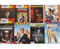 Kolekce Arnold Schwarzenegger 8 DVD - DVD