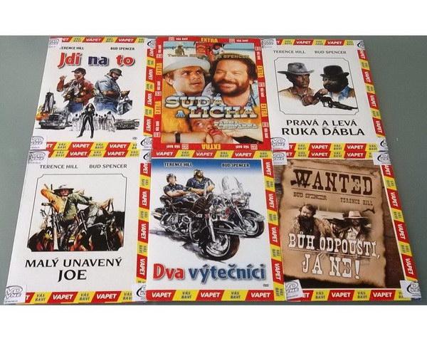 Kolekce Bud Spencer & Terence Hill - DVD