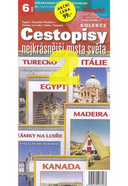Kolekce Cestopisy 2. - nejkrásnější místa světa - DVD