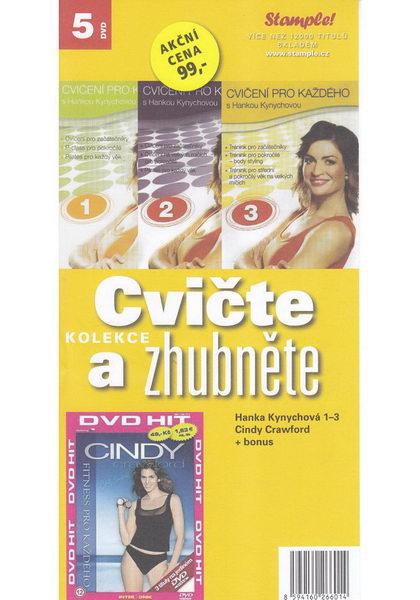 Kolekce Cvičte a zhubněte - DVD