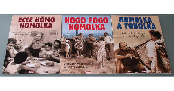 Kolekce Homolka - DVD
