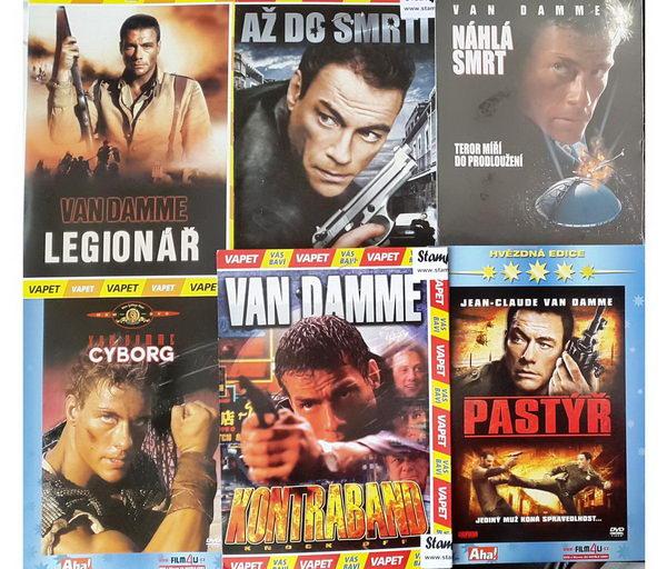 Kolekce Jean-Claude Van Damme - 6DVD