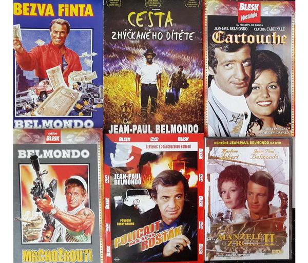 Kolekce Jean Paul Belmondo (6 DVD)