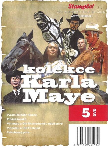 Kolekce Karel May - DVD