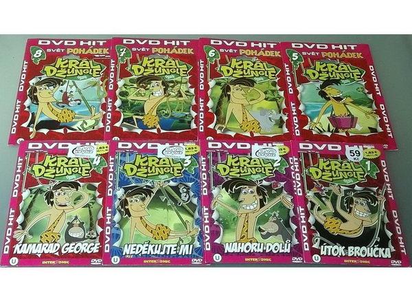 Kolekce Král džungle - DVD