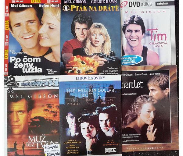 Kolekce Mel Gibson - DVD