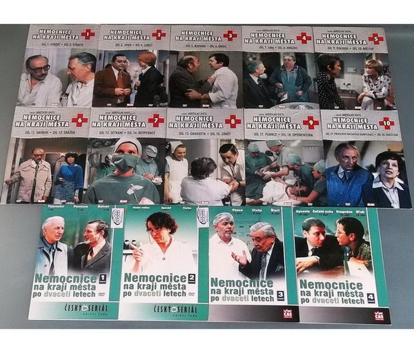 Kolekce Nemocnice na kraji města - DVD